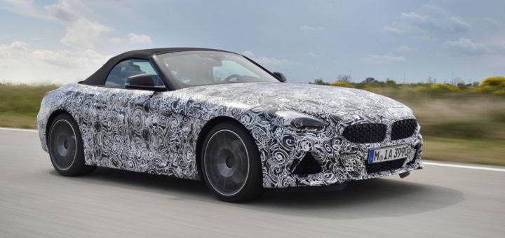 BMW Z4 Roadster Spy G29 2018 (8)