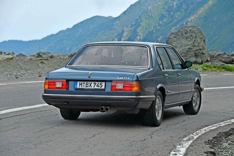 BMW 745i Turbo E23 - BMW Serie 7 - Oldtimer (3)