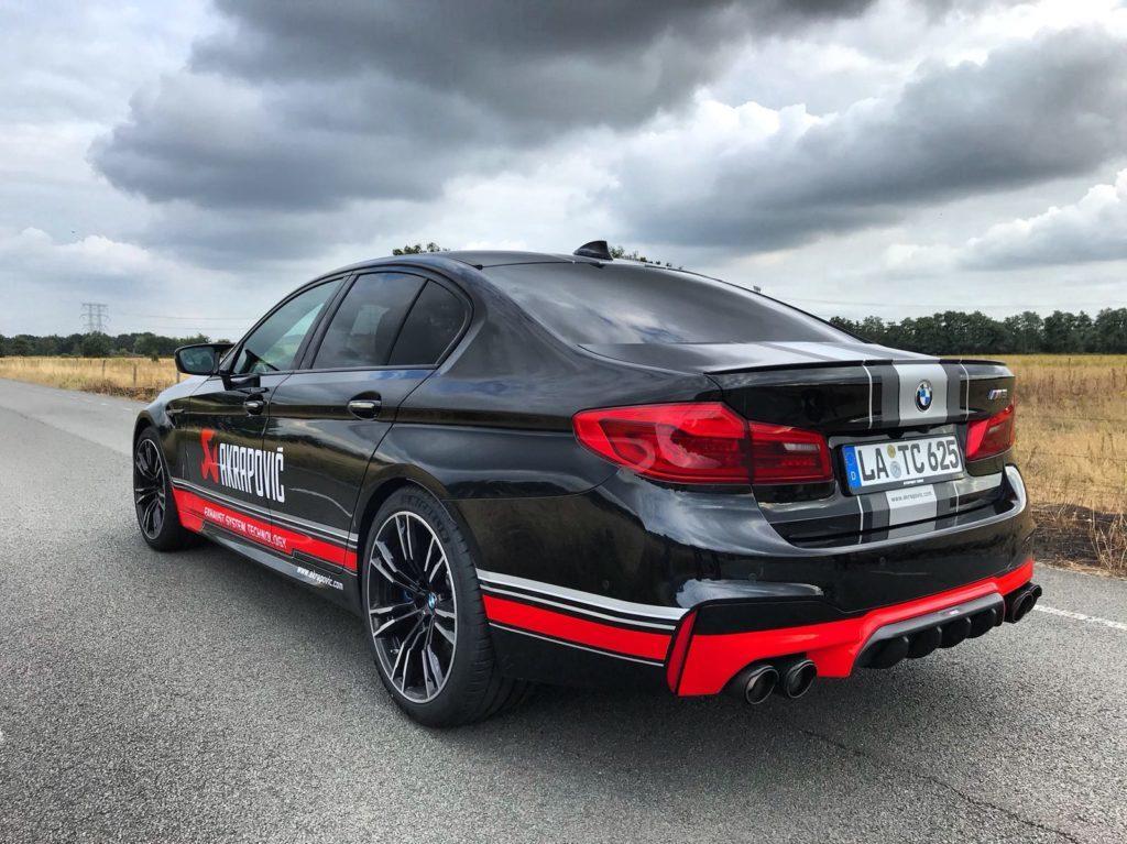 BMW M5 M xDrive F90 Akrapovic Exhaust