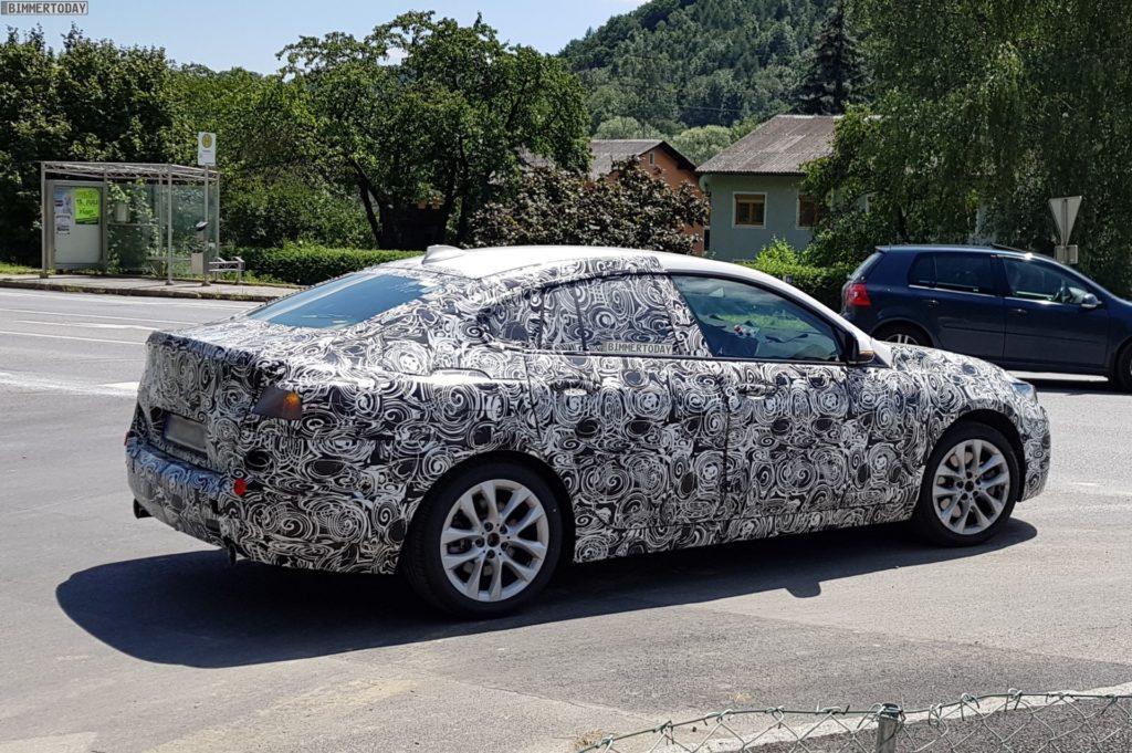 BMW Serie 2 Gran Coupe' Spy 2019 F44
