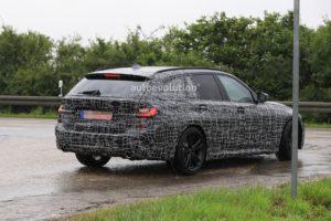 BMW Serie 3 Touring G21 Spy 2019 - BMW M340i xDrive Touring (12)