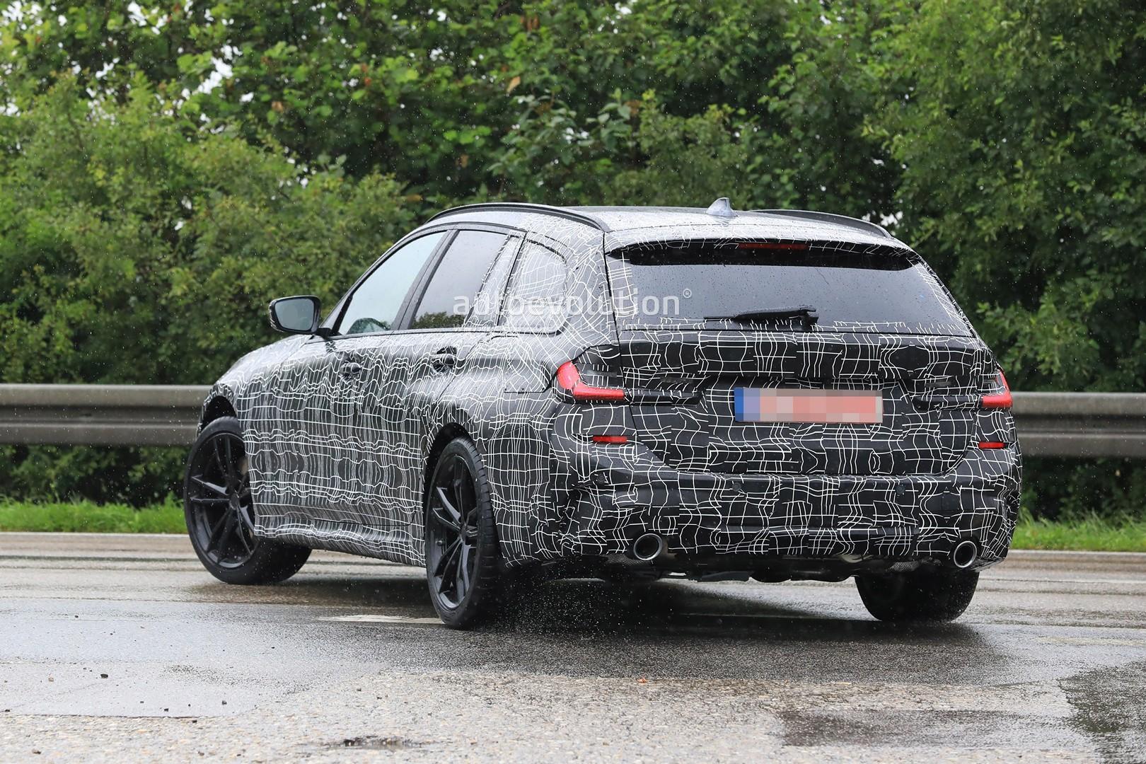 BMW Serie 3 Touring G21 Spy 2019 - BMW M340i xDrive ...