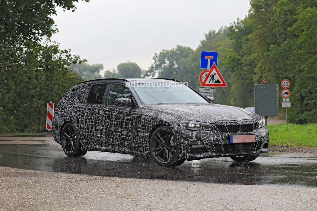 BMW Serie 3 Touring G21 Spy 2019 - BMW M340i xDrive Touring (8)