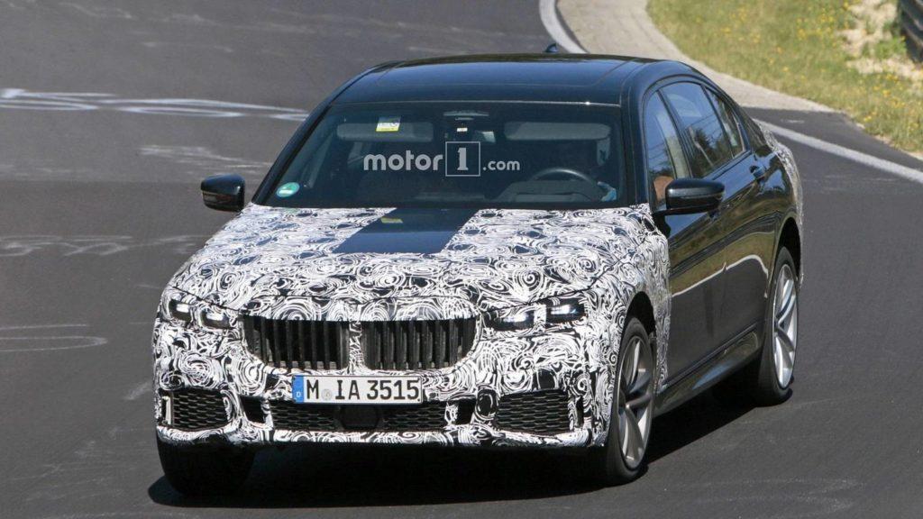 BMW Serie 7 LCI Spy 2019 - G11 G12 - BMW M760Li - BMW 745e