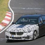 BMW Serie 7 LCI Spy 2019 - G11 G12 - BMW M760Li - BMW 745e (2)