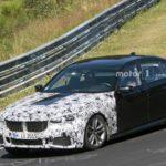 BMW Serie 7 LCI Spy 2019 - G11 G12 - BMW M760Li - BMW 745e (4)