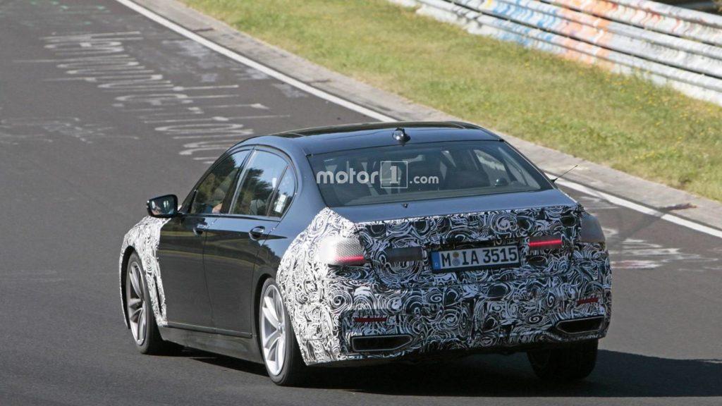 BMW Serie 7 LCI Spy 2019 - G11 G12 - BMW M760Li - BMW 745e (6)