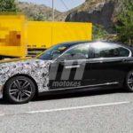 BMW Serie 7 LCI Spy 2019 - G11 G12 - BMW M760Li - BMW 745e (7)
