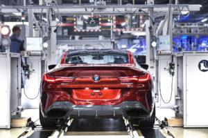 BMW Serie 8 Coupe G15 2018 Dingolfing Plant Production (2)