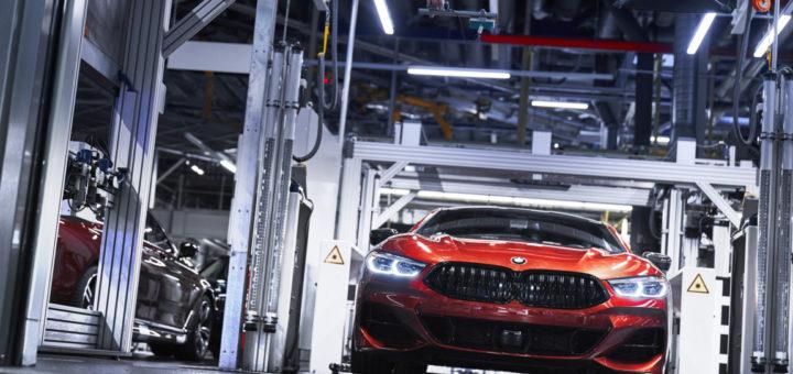 BMW Serie 8 Coupe G15 2018 Dingolfing Plant Production (3)