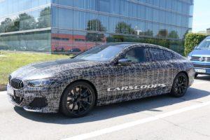 BMW Serie 8 Gran Coupe Spy 2019 - G16