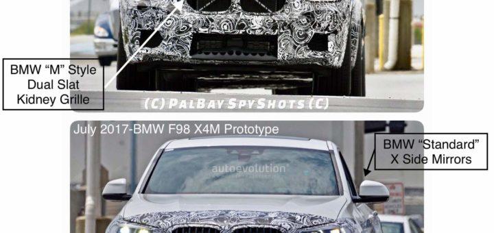 BMW X4M F98 2018 Spy (2)