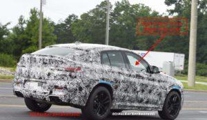 BMW X4M F98 2018 Spy