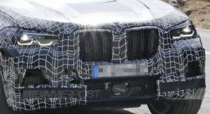 BMW X5 M F95 Spy 2019 (2)