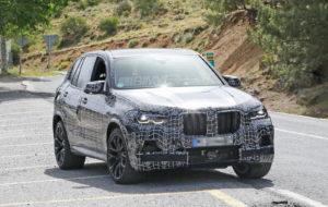 BMW X5 M F95 Spy 2019 (3)