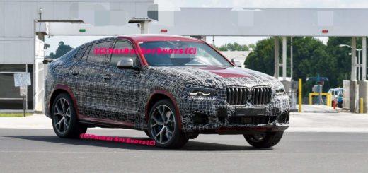 BMW X6 2019 Spy G06