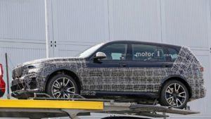 BMW X7 M50d xDrive 2019 Spy - G07 (2)