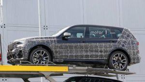 BMW X7 M50d xDrive 2019 Spy - G07