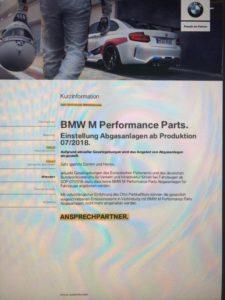 BMW M Performance Parts - BMW M2 Competition - Advert
