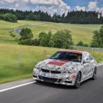 BMW Serie 3 G20 2019 Prototype Nurburgring Test Spy (11)