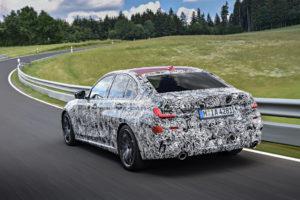 BMW Serie 3 G20 2019 Prototype Nurburgring Test Spy (12)