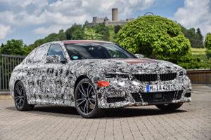 BMW Serie 3 G20 2019 Prototype Nurburgring Test Spy (15)