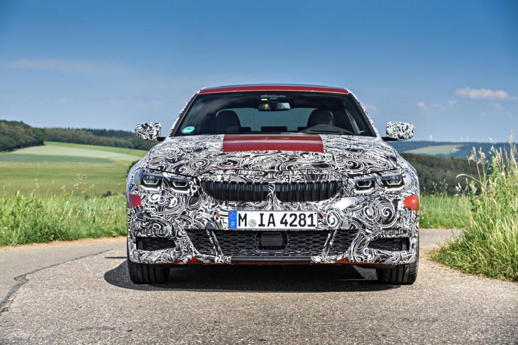 BMW Serie 3 G20 2019 Prototype Nurburgring Test Spy (16)