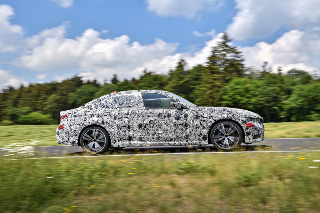 BMW Serie 3 G20 2019 Prototype Nurburgring Test Spy (17)