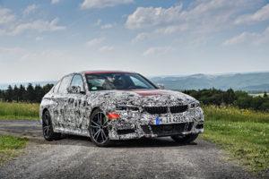 BMW Serie 3 G20 2019 Prototype Nurburgring Test Spy (18)