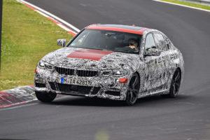 BMW Serie 3 G20 2019 Prototype Nurburgring Test Spy (2)