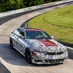 BMW Serie 3 G20 2019 Prototype Nurburgring Test Spy (3)