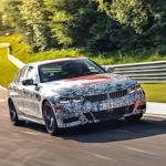 BMW Serie 3 G20 2019 Prototype Nurburgring Test Spy (4)
