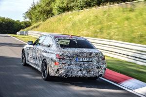 BMW Serie 3 G20 2019 Prototype Nurburgring Test Spy (5)