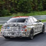 BMW Serie 3 G20 2019 Prototype Nurburgring Test Spy (6)