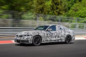 BMW Serie 3 G20 2019 Prototype Nurburgring Test Spy (9)