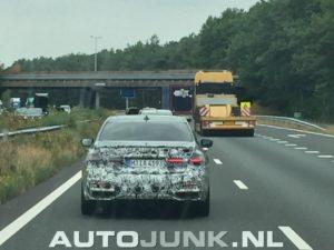 BMW Serie 7 facelift LCI Spy - BMW M760Li xDrive 2019 G11 G12