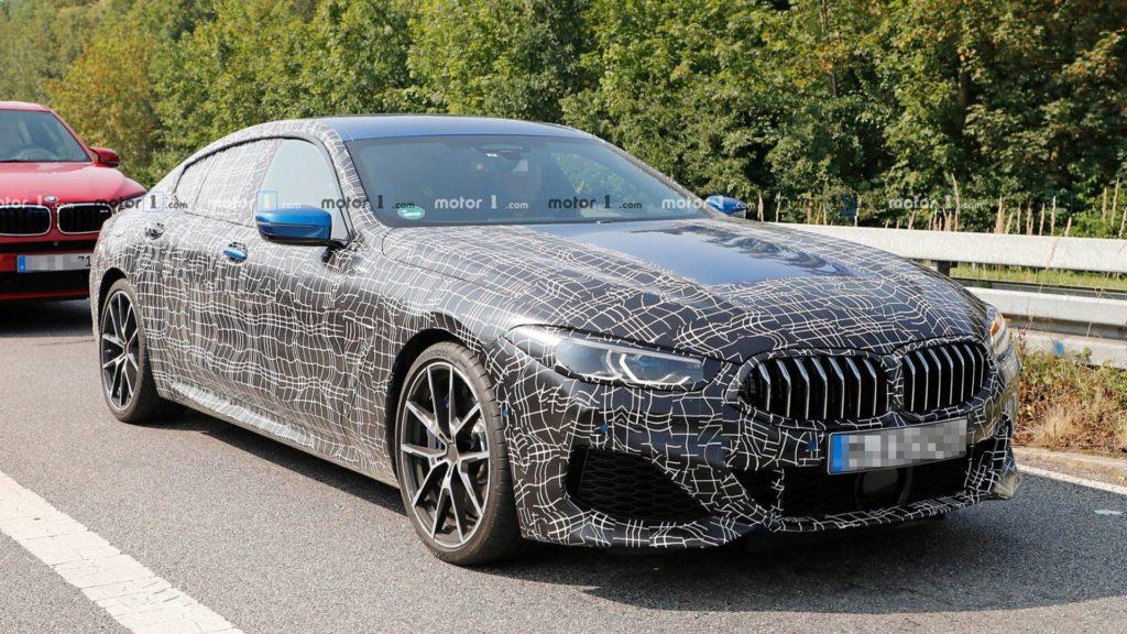 BMW Serie 8 Gran Coupe' 2019 Spy G16