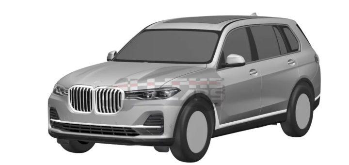 BMW X7 G07 Patent 2019