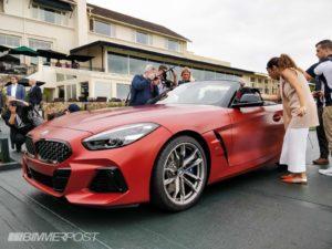 BMW Z4 Roadster 2019 Live Peeble Beach (2)