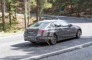 BMW i3 2021 Spy - BMW Serie 3 G20 (2)