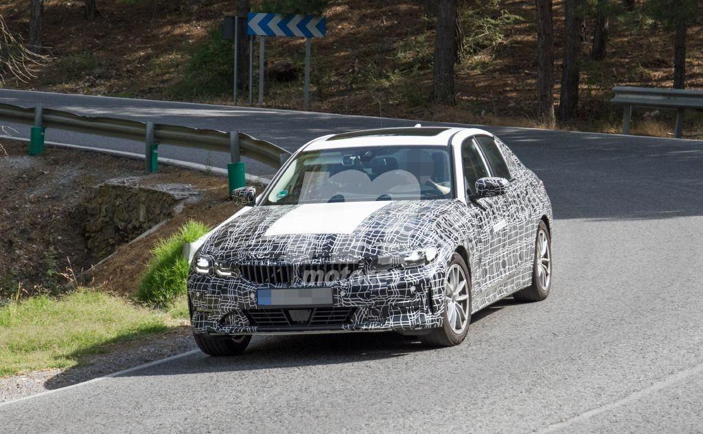 BMW i3 2021 Spy - BMW Serie 3 G20 (5)