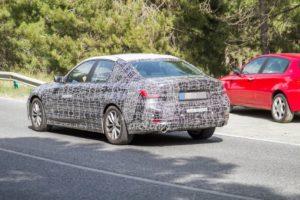 BMW i3 2021 Spy - BMW Serie 3 G20 (7)