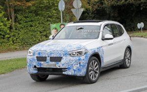 BMW iX3 2020 Spy - BMW X3 EV G01 (2)