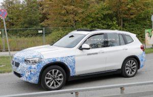 BMW iX3 2020 Spy - BMW X3 EV G01 (3)