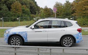 BMW iX3 2020 Spy - BMW X3 EV G01 (4)