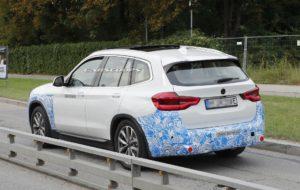 BMW iX3 2020 Spy - BMW X3 EV G01 (5)