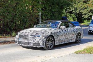 BMW M440i Cabrio Spy 2020 - G22 - BMW Serie 4 Cabrio (2)