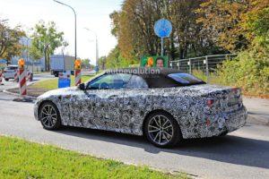 BMW M440i Cabrio Spy 2020 - G22 - BMW Serie 4 Cabrio (4)