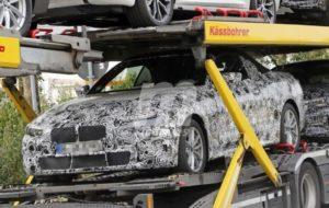 BMW Serie 4 Cabrio Spy G23 2021
