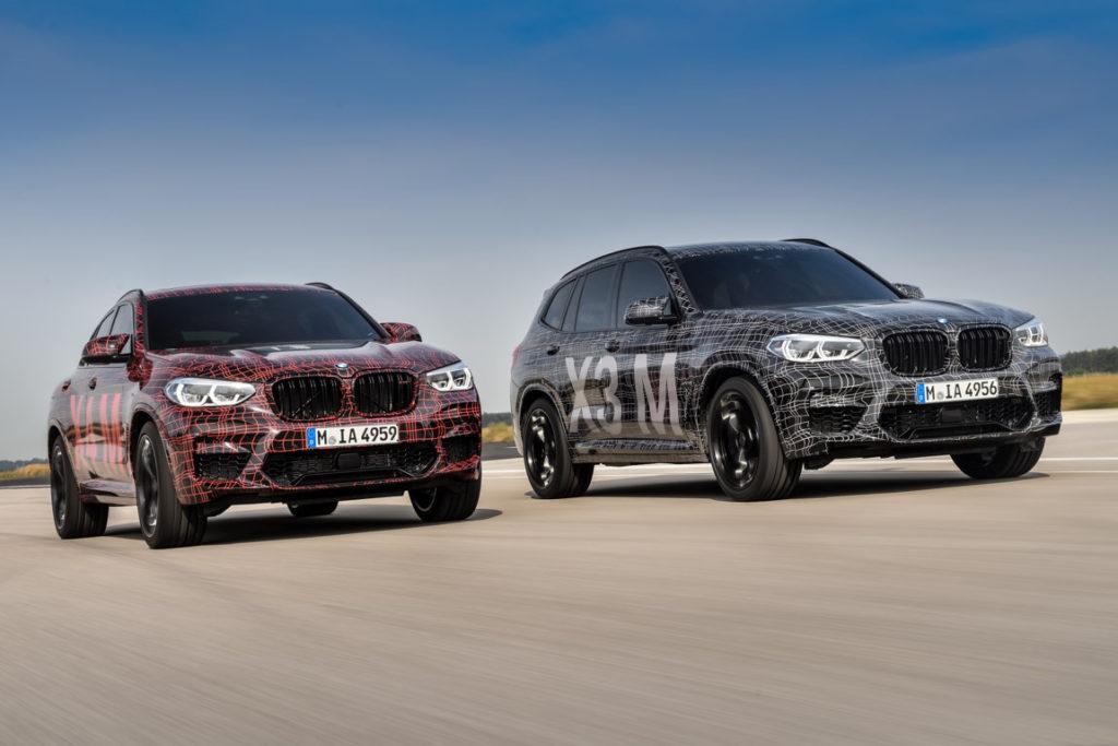 BMW X3M - BMW X4M F97 F98 2019 Spy Ufficiali Nurburgring (2)